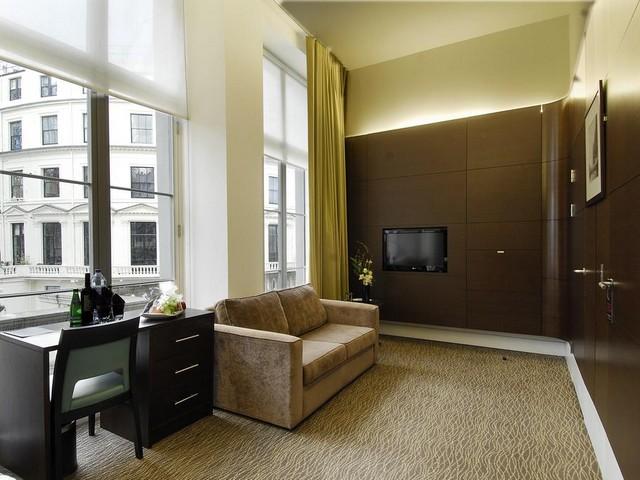 يُوفّر فندق ذا بارك غراند لندن بادينغتون إطلالات رائعة على مدينة لندن.