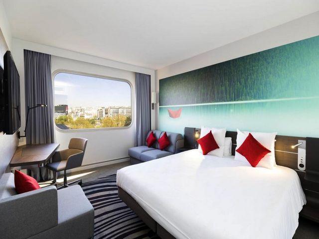 يعد فندق نوفوتيل باريس سنتر تور إيفل من اجمل فنادق باريس إطلالةً