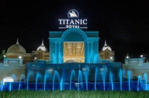 يتميز فندق تيتانيك رويال الغردقة بالفخامة