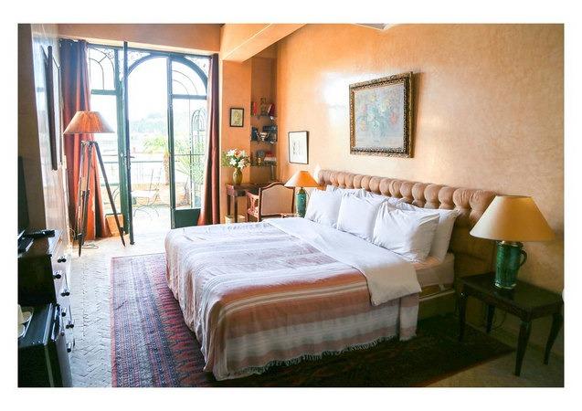 فنادق طنجه تُوفّر غُرف راقية بها أسّرة مُريحة وتراس رائع