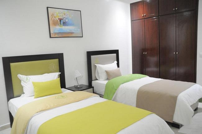 هو افضل فندق في طنجة يشمل على غُرف نظيفة ومفروشات راقية