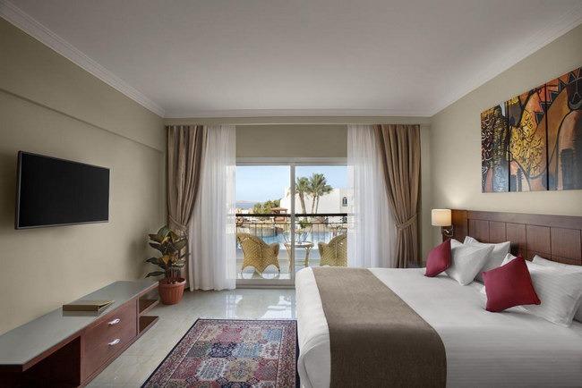 فنادق شرم الشيخ باسعار رخيصه تشتمل على غُرف مُزدوجة أنيقة بديكورات وأثاث راقي