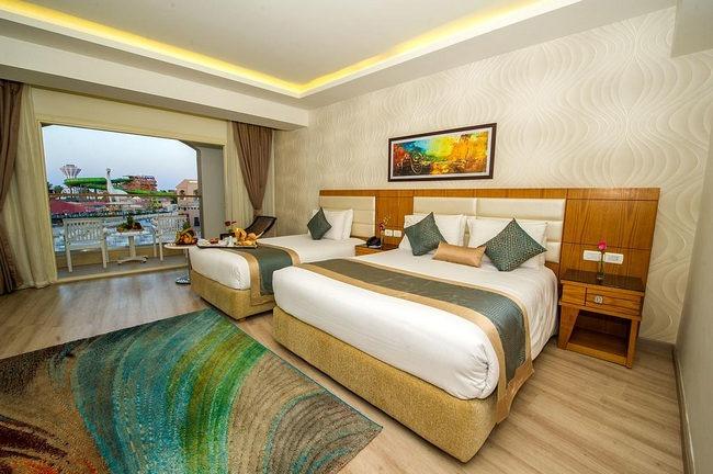 فنادق رخيصة في شرم الشيخ بها غُرف عائلية مُطلة على مُنتزه مائي رائع