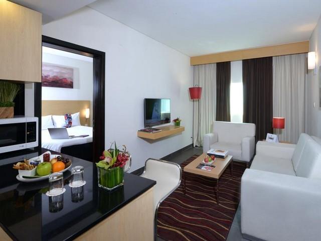 يقدم ايبيس السيف أماكن إقامة مع غرفة معيشة فسيحة ومجهزة بأحدث التجهيزات