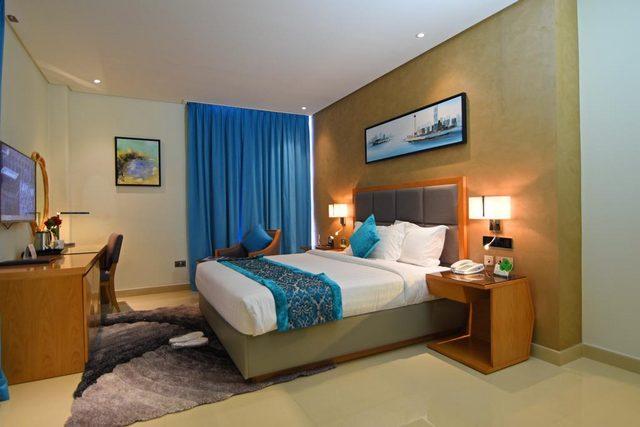 من ارخص فنادق البحرين في شارع المعارض فندق مشعل البحرين