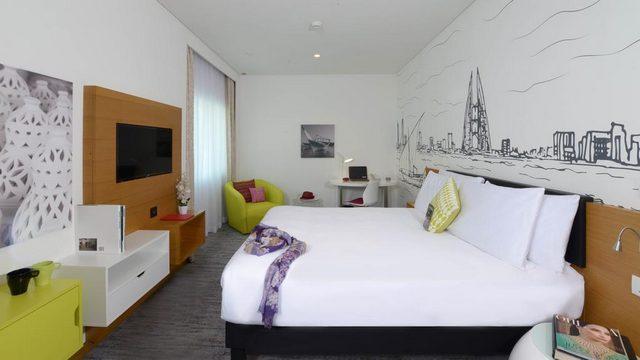 واحد من ابرز الخيارات وأعلاها تقييماً في ارخص فنادق البحرين في شارع المعارض فندق إيبيس المنامة