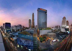 تمتاز سلسلة فندق امارى بانكوك بالإطلالات الرائعة