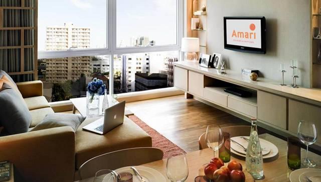 يضم  سكن أماري بانكوك كأحد فروع فندق اماري بانكوك وحدات مُتنوعة ذات مرافق وخدماتٍ عديدة.