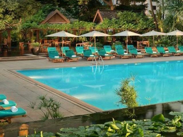 يوفر فندق انانترا سيام بانكوك إطلالات خلابة
