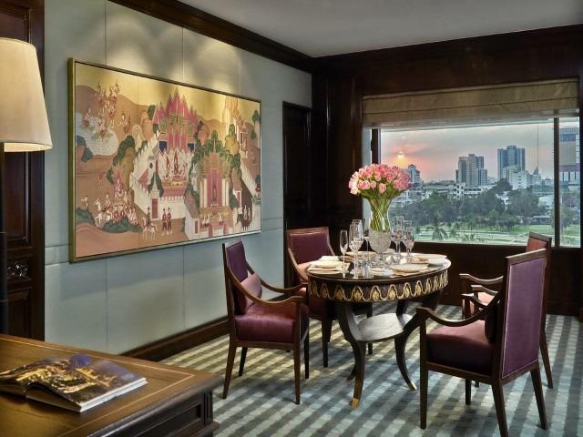 يضم فندق أنانترا سيام بانكوك مطاعم تقدم مأكولات عالمية