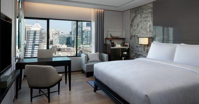 إن كنت توّد السكن في بانكوك هنا ستجد ما يُناسبك، إليك ترشيحاتنا من افضل فنادق بانكوك للاختيار من بينها