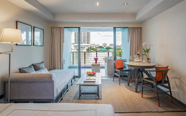 فندق ريفا سيوريا بانكوك هو افضل الفنادق التي تضُم غُرف بديكورات عصرية