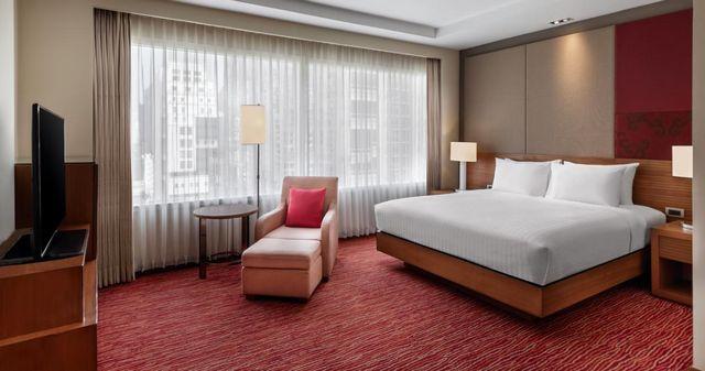 يوفر فندق كورتيارد باي ماريوت بانكوك إقامة عائلية بأسعار مقبولة، تعرف معنا