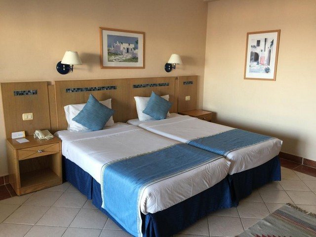 الغرف الرائعة في فندق سيرين شرم الشيخ 4 نجوم