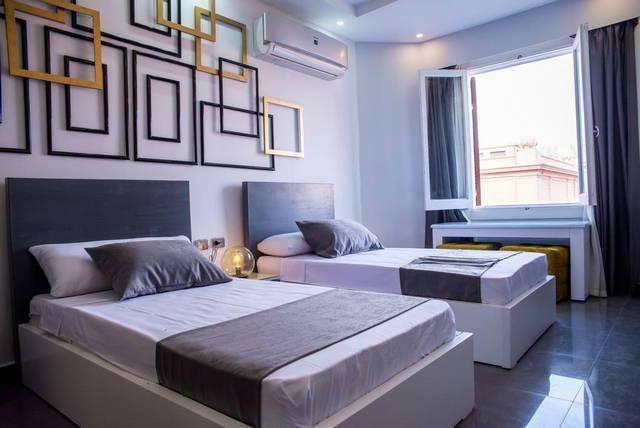 فندق إجيبشن نايت القاهرة من فنادق وسط البلد القاهرة التي تضم غُرف مُنوّعة