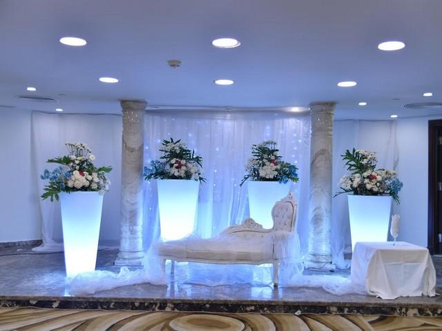 قاعة المناسبات الجميلة من فندق ايسترن المنتزة اسكندرية
