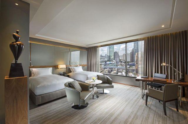 سلسلة فندق هيلتون بانكوك من أفضل أماكن الإقامة المُوصى بها في بانكوك