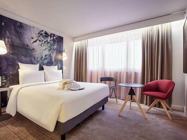 مواصفات و اسعار الغرف في فندق ميركيور لاديفانس باريس