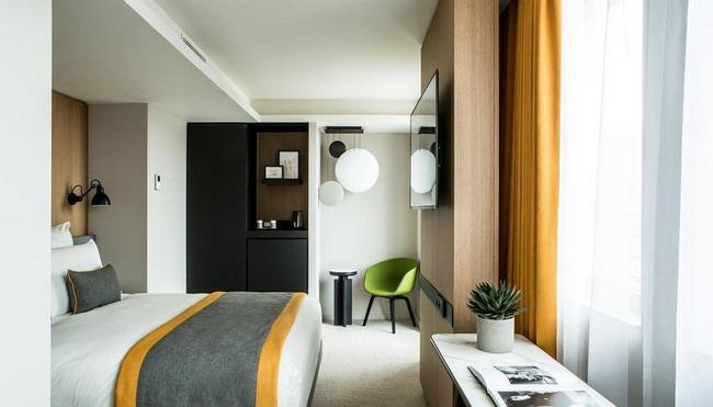 الأسّرة الرائعة في أجمل غُرف سلسلة فندق مركيور باريس
