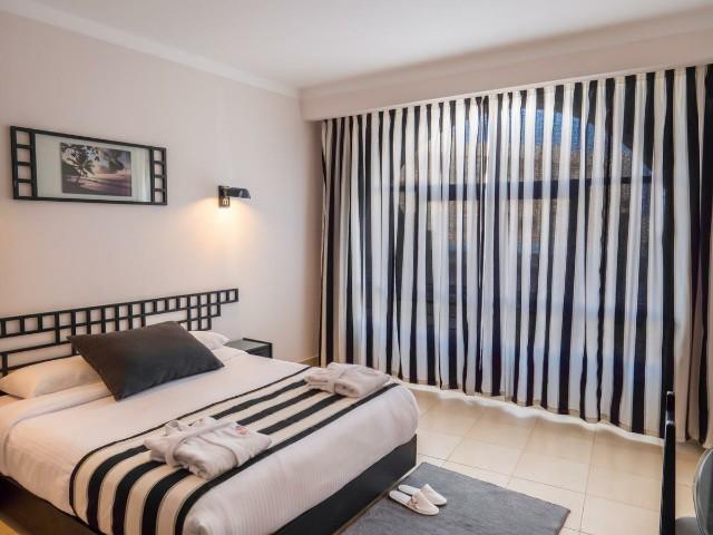مساحات غرف فندق ميريت الغردقة واسعة