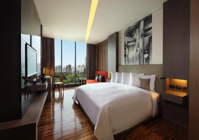 غرفة مع إطلالة في فندق سو سوفيتيل بانكوك