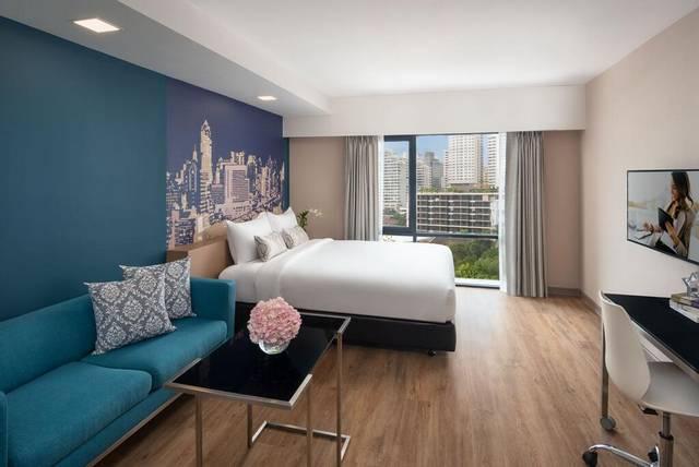 يُعد  سيتادينس سوخومفيت 8 بانكوك من الشقق الفاخرة بين شقق فندقية في بانكوك شارع العرب