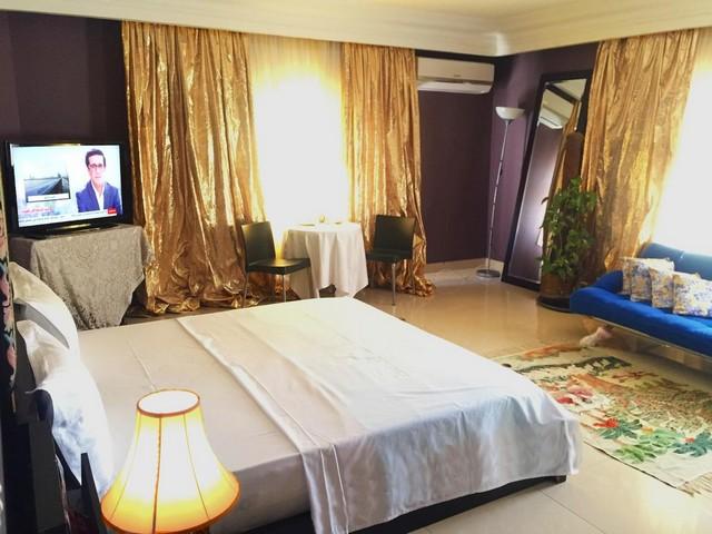 منظر جانبي لغرفة في فندق صني ستوديو نيو كايرو شقق فندقية في القاهرة