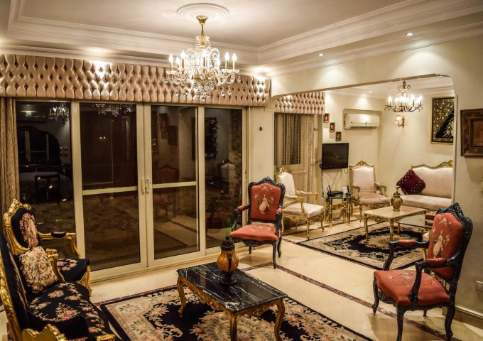 الصالون في شقق شطة الفندقية شقق فندقية في القاهرة
