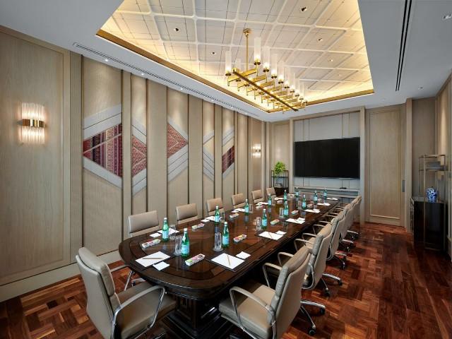 يوفر فندق شيراتون جراند سكومفيت بانكوك غرف اجتماعات