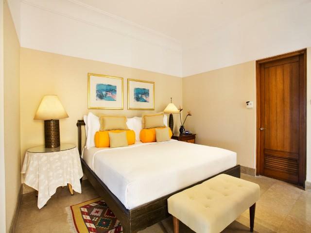 تتميز الغرف في فندق اوبروي الغردقة بمساحات واسعة