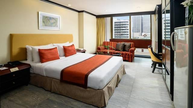 من بين ارخص فنادق في بانكوك يتميّز غراند بريزدنت بانكوك بفريق عمل محترف