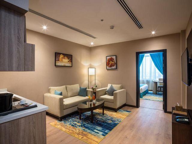 من افضل فنادق الدمام 4 نجوم في الدمام تتميّز غُرفه بديكور فاخر واثاث مُريح .