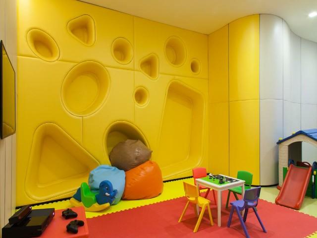 يضم فندق نوفوتيل بلوينشت منطقة ألعاب مخصصة للأطفال