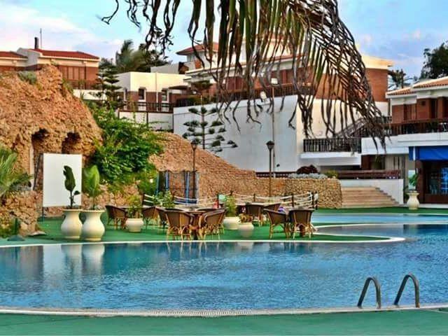 يضم فندق بالما ان الاسكندرية مسبحان ومرافق سبا وعافية