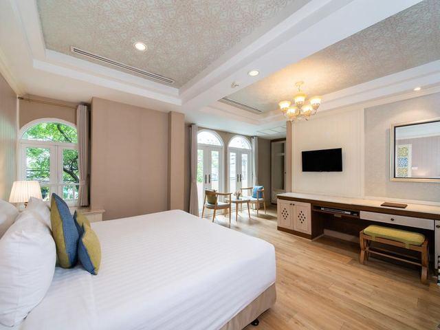 تحتوي كل الغُرف في فندق سليل بانكوك على جميع وسائل الراحة الحديثة