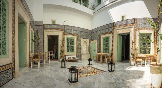 دار انطونيا أكثر فنادق سوسة تشبّهاً بالطابع التونسي الأصيل