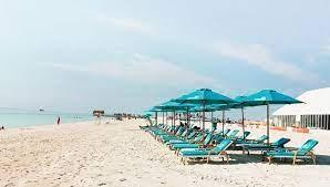 شاطئ الحديريات ابوظبي
